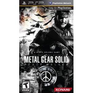 Псп игры metal gear solid