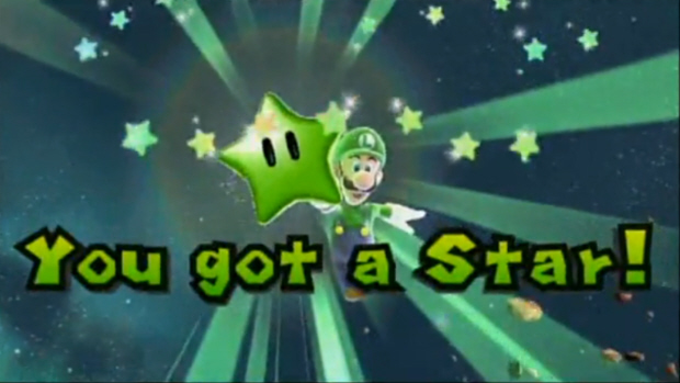 Super Mario Galaxy 2 Green Stars Locations Walkthrough Guide Screenshot. STAR GET!