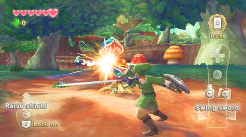 The Legend of Zelda: Skyward Sword announced for Wii.