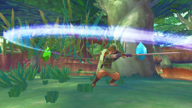 Zelda: Skyward Sword Spin Attack screenshot