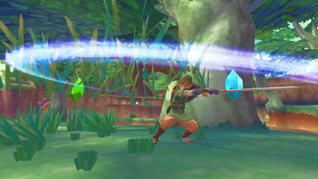 Zelda: Skyward Sword Spin Attack screenshot