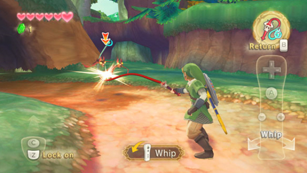 Zelda: Skyward Sword Whip Item screenshot