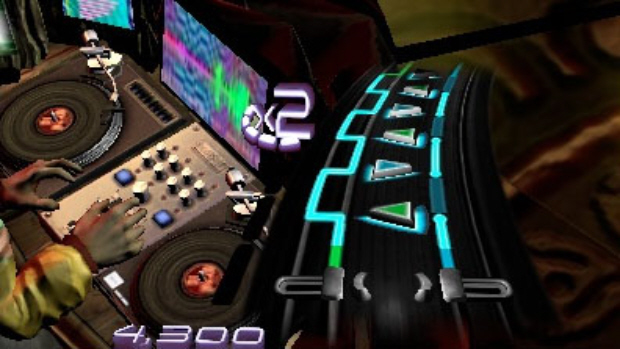DJ Hero 3D screenshot