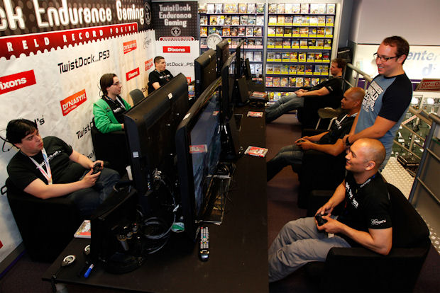 Endurance Gaming Event World Record set by 6 gamers at 50 hours