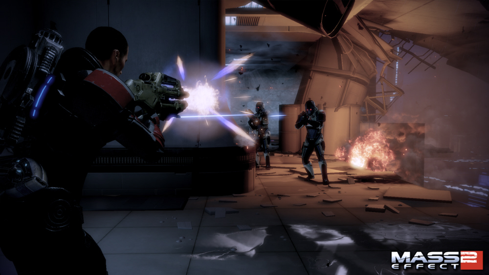 Mass effect 2 lair of the shadow broker