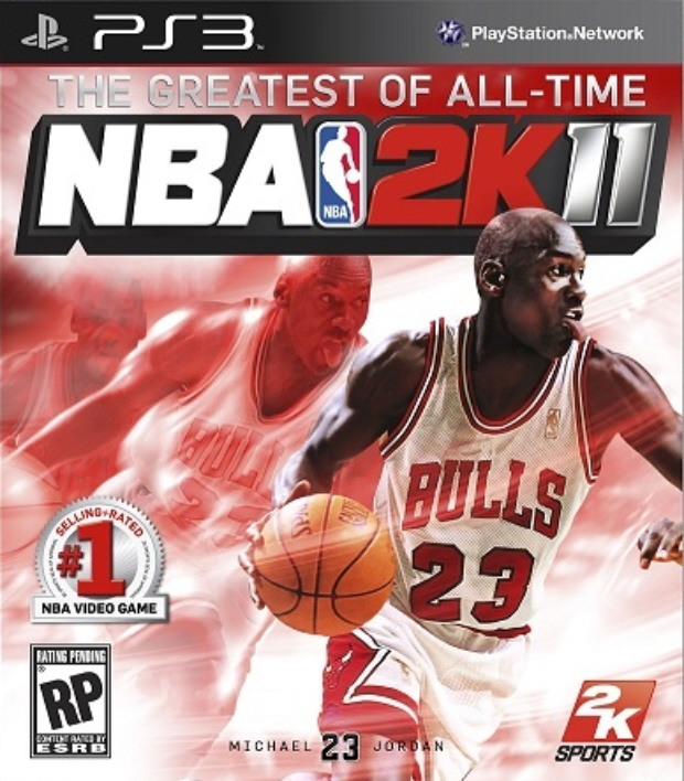 nba 2k11,michael jordan,john wall