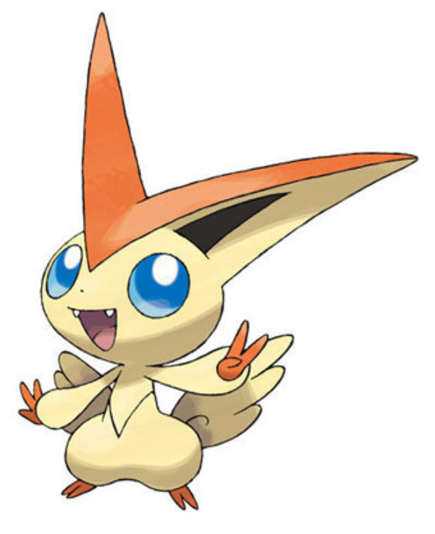 Victini is Pokemon Black and White Pokedex number 000