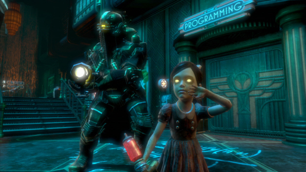 Bioshock 2 Minerva's Den walkthrough screenshot