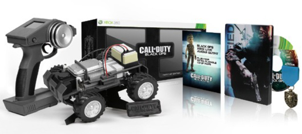 Call of Duty: Black Ops Prestige Edition includes RC spy car