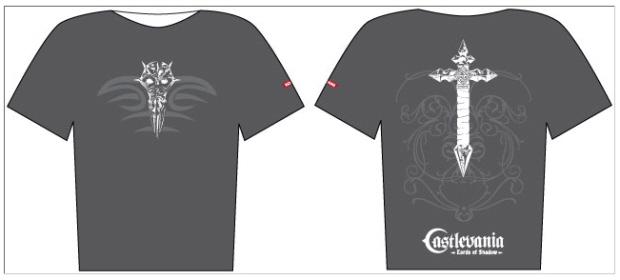 Castlevania: Lords of Shadow shirt GameStop pre-order bonus