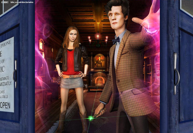 Doctor Who: TARDIS walkthrough game image