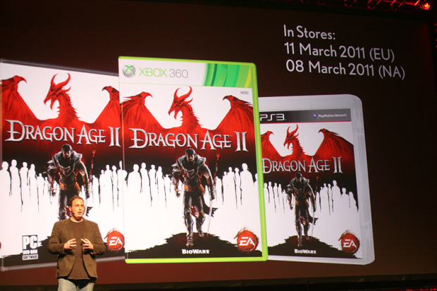 Dragon Age II release dates announced at Gamescom 2010 (PC, Xbox 360, PS3