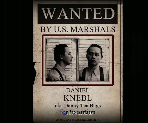 Mafia 2 Wanted Poster screenshot