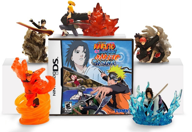 The newly announced games are Naruto Shippuden: Dragon Blade Chronicles for