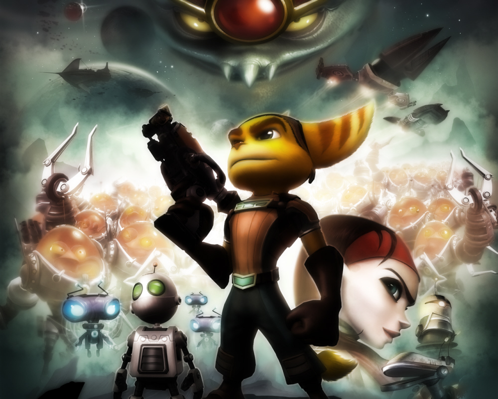 how to play ratchet and clank games pc