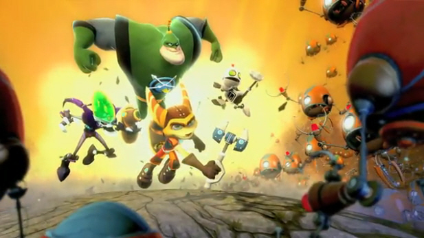 Ratchet and Clank: All 4 One screenshot PS3 co-op action!