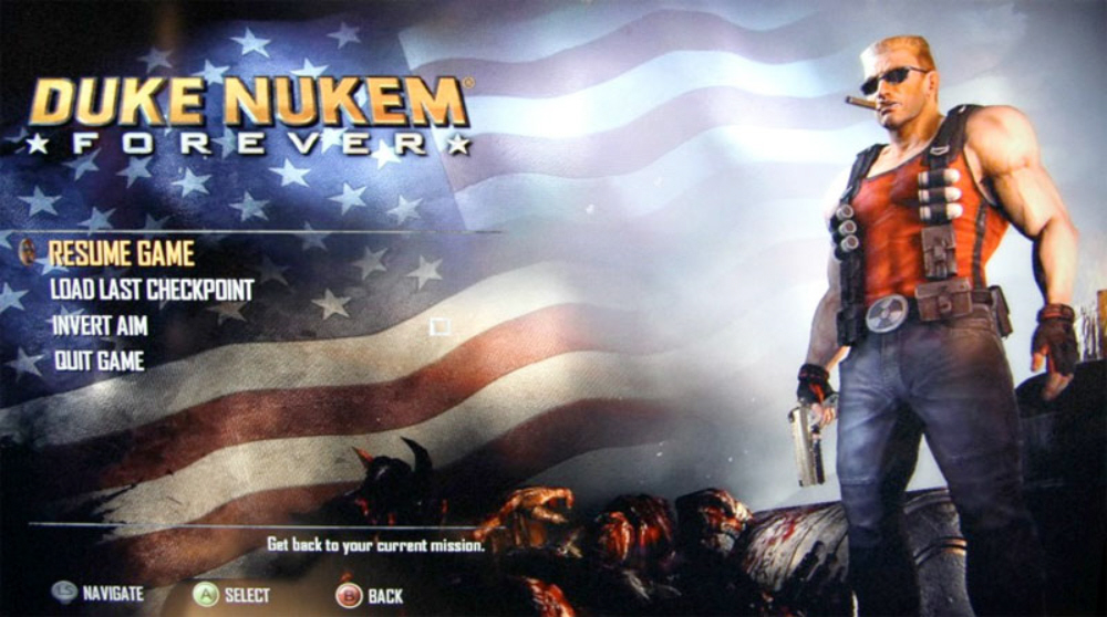 duke nukem forever wallpaper. Duke Nukem Forever development