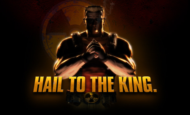 Hail to the king baby! Duke Nukem Forever wallpaper
