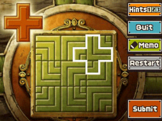 Professor Layton and the Unwound Future puzzle 115 Hidden in Plain Sight solution screenshot