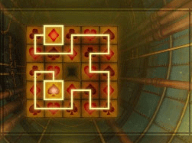 Professor Layton and the Unwound Future puzzle 124 The Final Tile solution screenshot