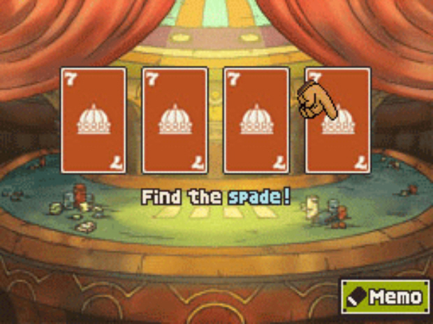 Professor Layton Unwound Future puzzle answer Battle 1 solution screenshot