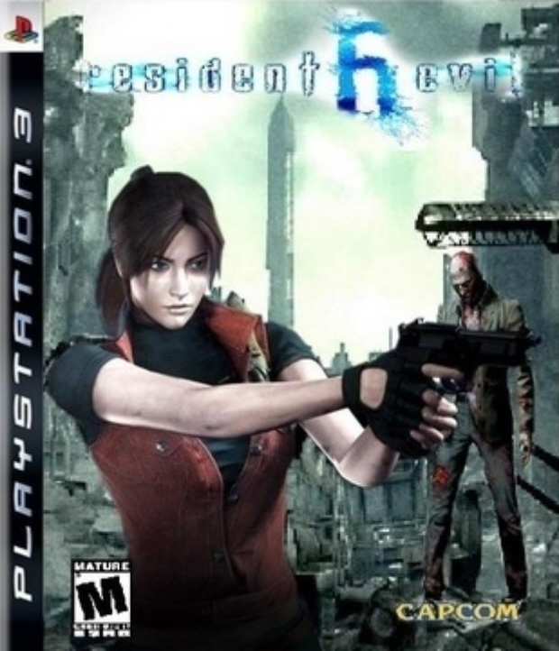 Resident Evil 6 fake box artwork with Claire. Hellllz yeah!