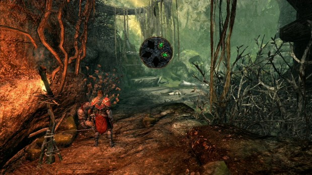 Castlevania Lords of Shadow Life Gem Location Screenshot