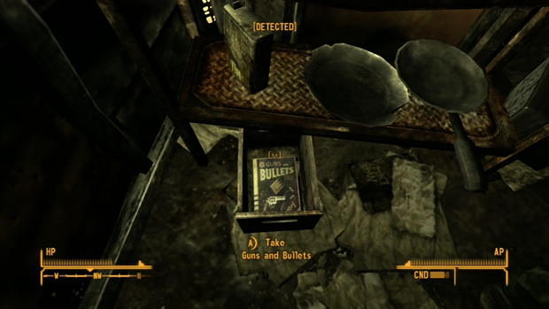 Fallout New Vegas Hollow-Out Rocks Locations Screenshot for the PC, Xbox 360, PS3 Locations Guide