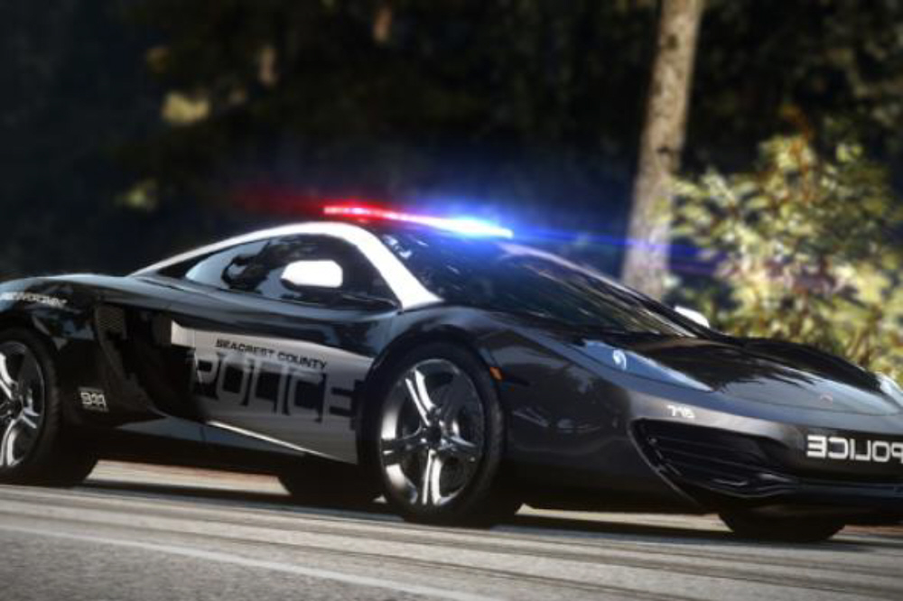 Need for Speed: Hot Pursuit 2010 wallpaper Cop Car. Click for big pic