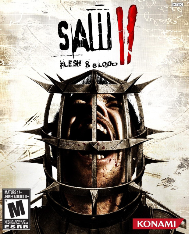 Saw 2: Flesh and Blood walkthrough box artwork