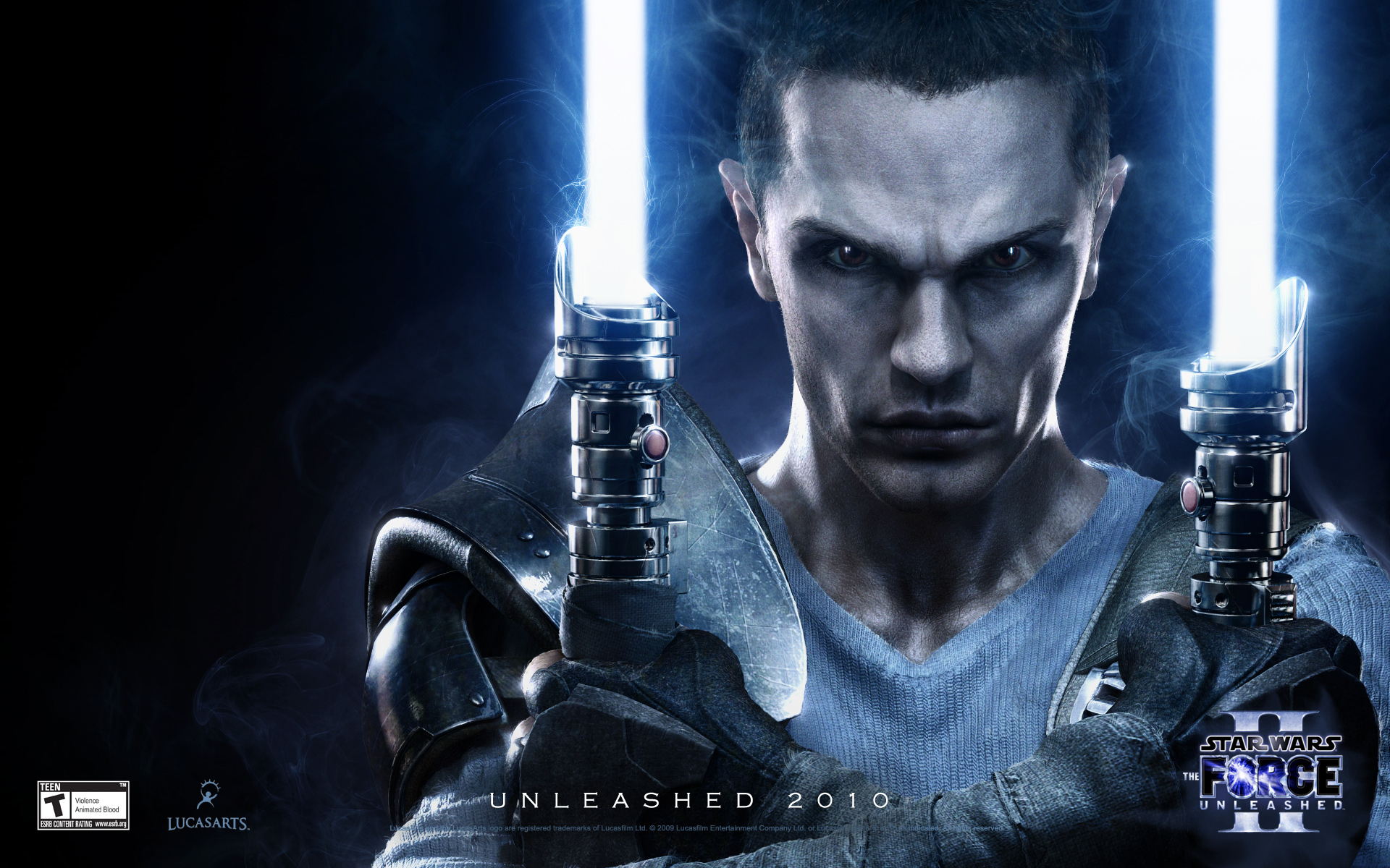 Star wars the force unleashed 2 wallpaper close up 1920x1200
