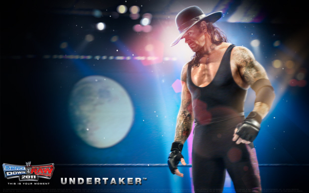WWE Smackdown vs Raw 2011 Undertaker wallpaper