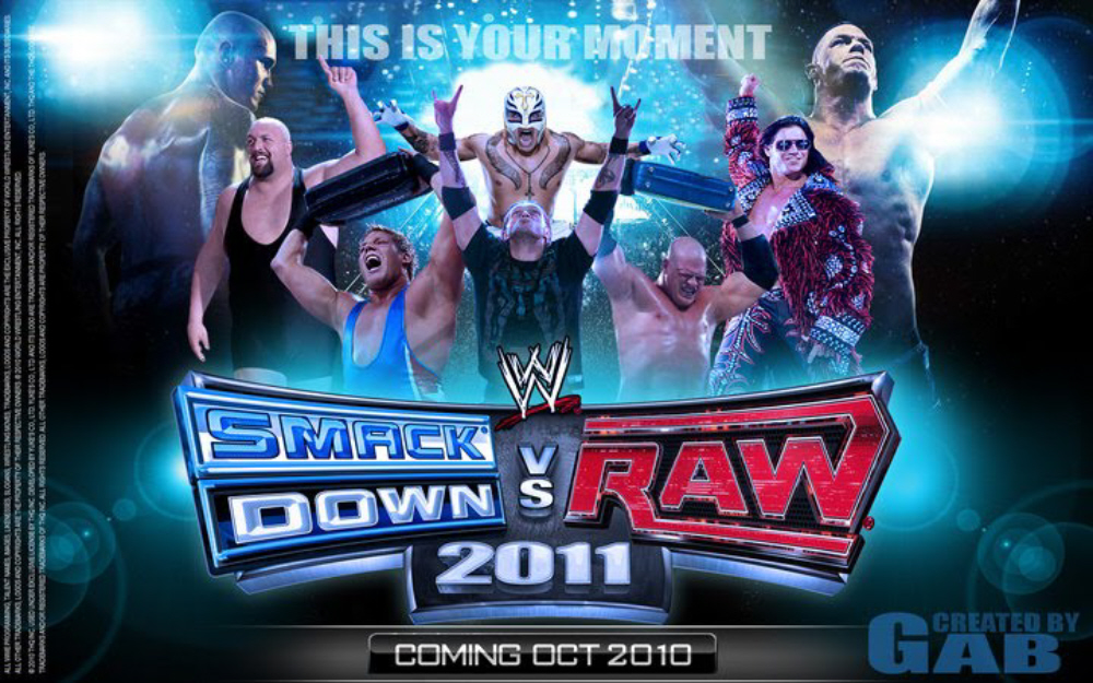 Wwe Raw Wallpaper 2011. WWE Smackdown vs Raw 2011