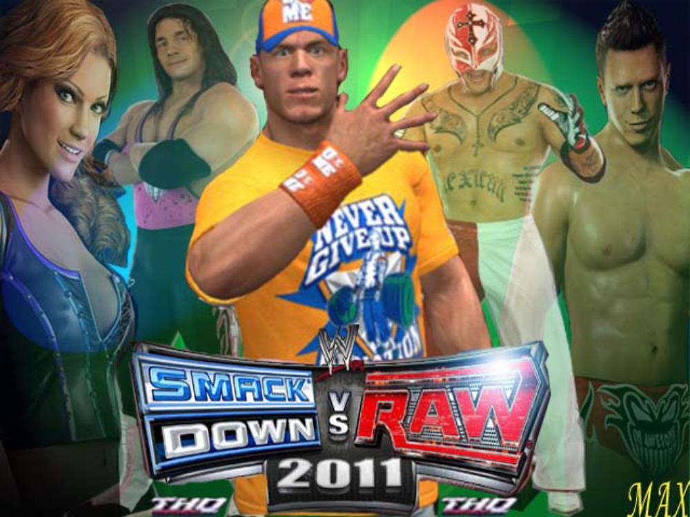 WWE Smackdown vs Raw 2011 wallpaper
