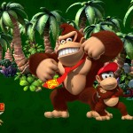 Donkey Kong Country Returns characters wallpaper
