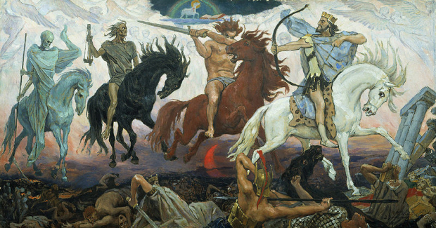 Four Horseman of the Apocalypse Vasnetsov artwork