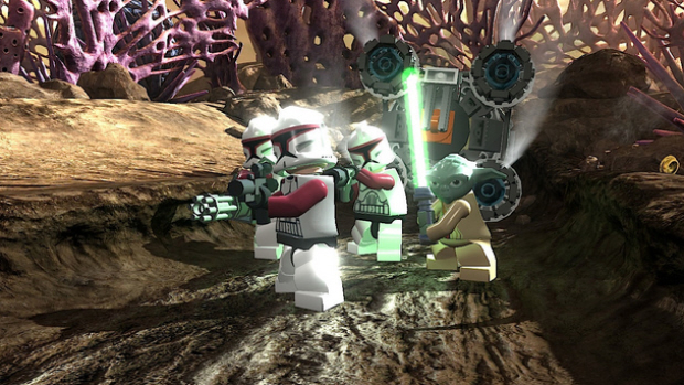 lego star wars 3 the clone wars screenshot LEGO Star Wars 3 im galaktischen Test