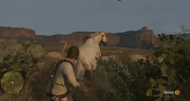 Red Dead Redemption Undead Nightmare Mystical Unicorn Screenshot