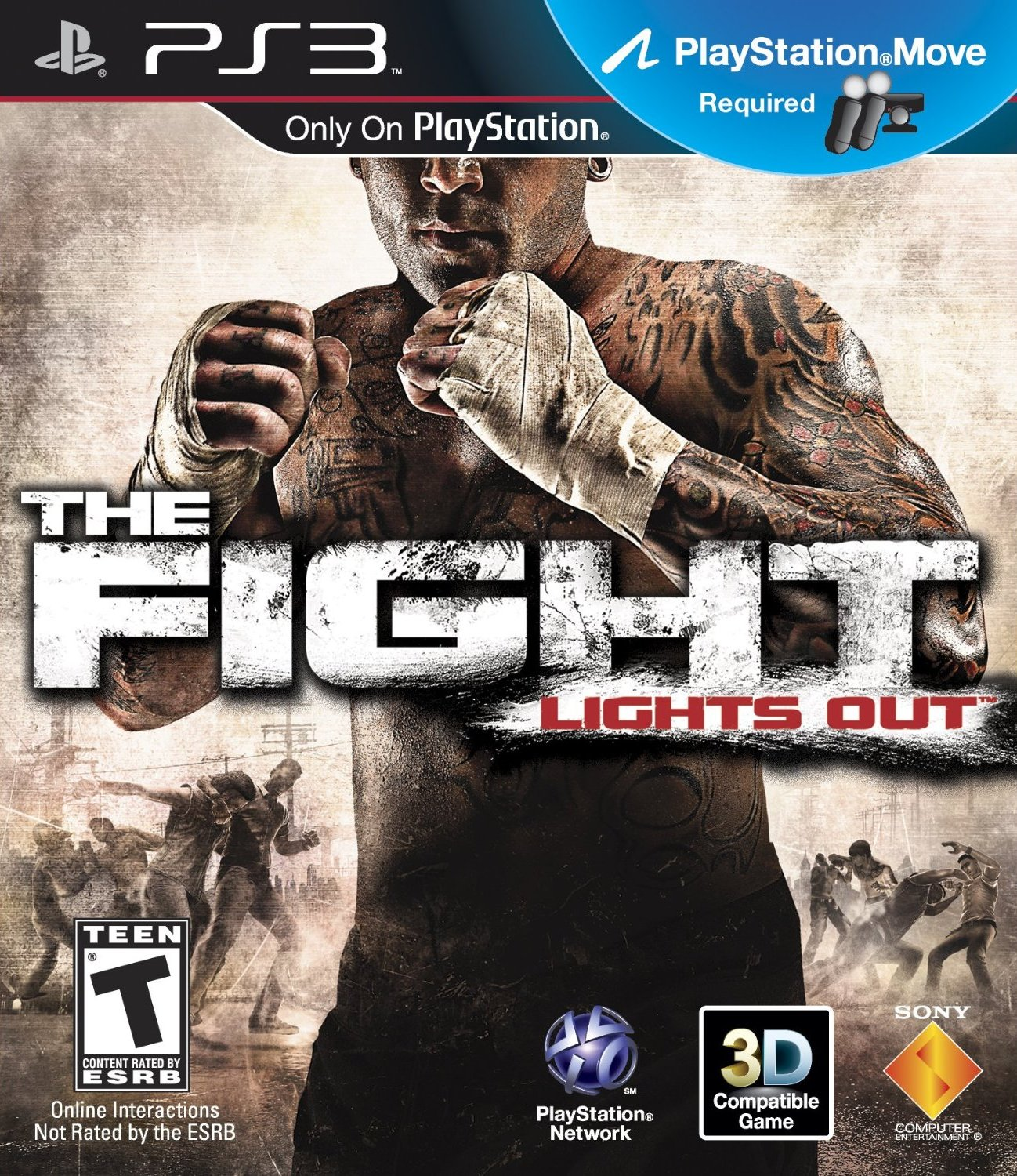 the fight lights out walkthrough video guide ps3 move. Black Bedroom Furniture Sets. Home Design Ideas