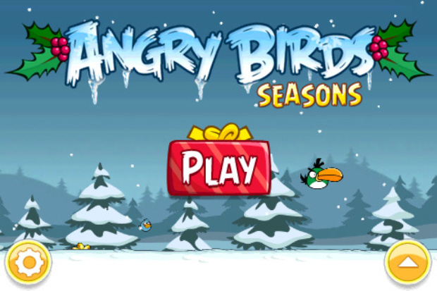 Angry Birds Seasons Christmas walkthrough screenshot (iPhone, iPad, iPod Touch)