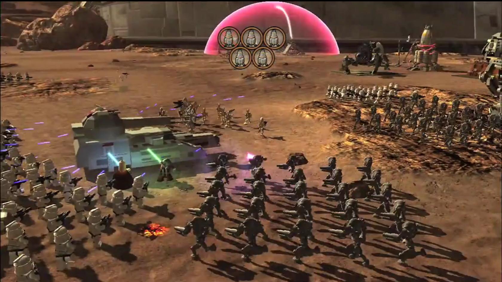 Videogame Source: LEGO Star Wars III video, Nintendo 3DS