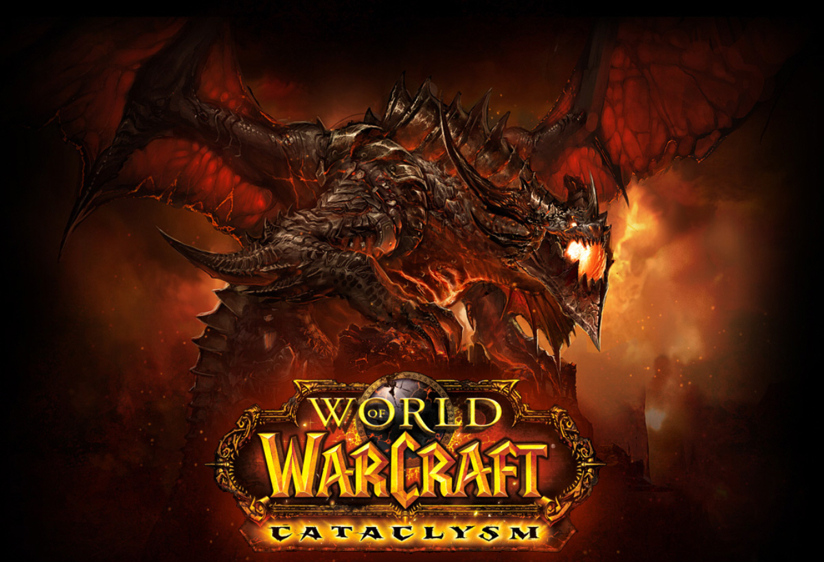 World Of Warcraft wallpapers World-of-warcraft-cataclysm-wallpaper-dragon