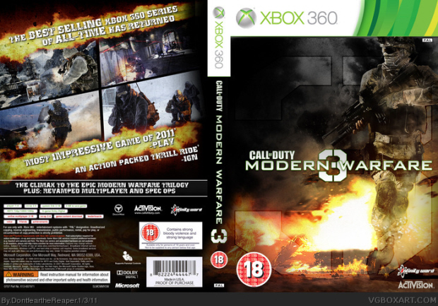 CoD MW3 Call Of Duty: Modern Warfare 3 Release Date, Missions, Maps, Roles