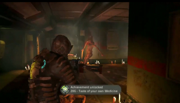 Dead Space 2 Achievements guide screenshot - Taste of Your Own Medicine