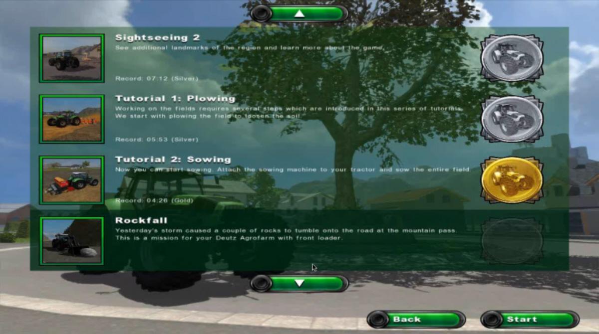 Farming Simulator 2011 walkthrough video guide (PC) .