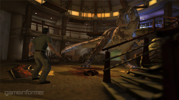 Jurassic Park 2011 game T-Rex screenshot
