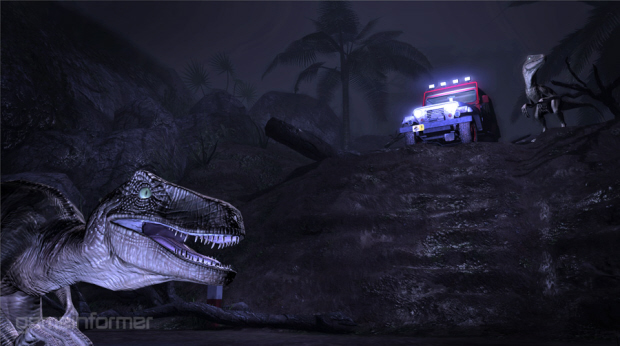 Jurassic Park Telltale adventure game raptors screenshot