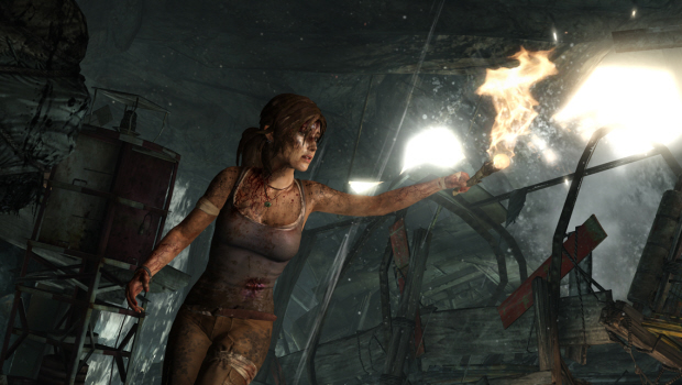 Tomb Raider 2011 wallpaper - Torch