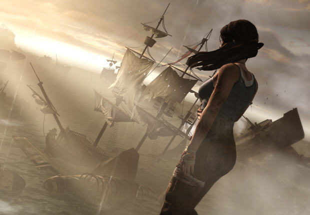 Tomb Raider 2011 wallpaper beautiful boats