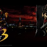 Marvel vs Capcom 3 Chris Redfield wallpaper